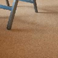コルクの床材