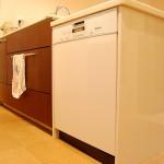 キッチン:シンクを挟んで左右に食器洗い乾燥機をw設置。海外製の大容量のもので大家族にはピッタリです。