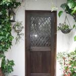 イメージ通りの玄関に。